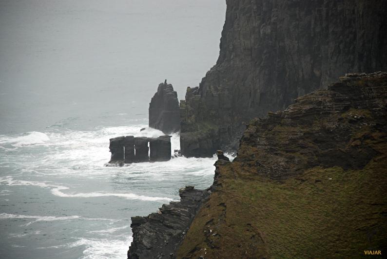 La fuerza del océano. Acantilados de Moher