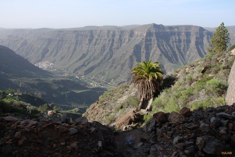 Paisaje del interior de la isla. Gran Canaria