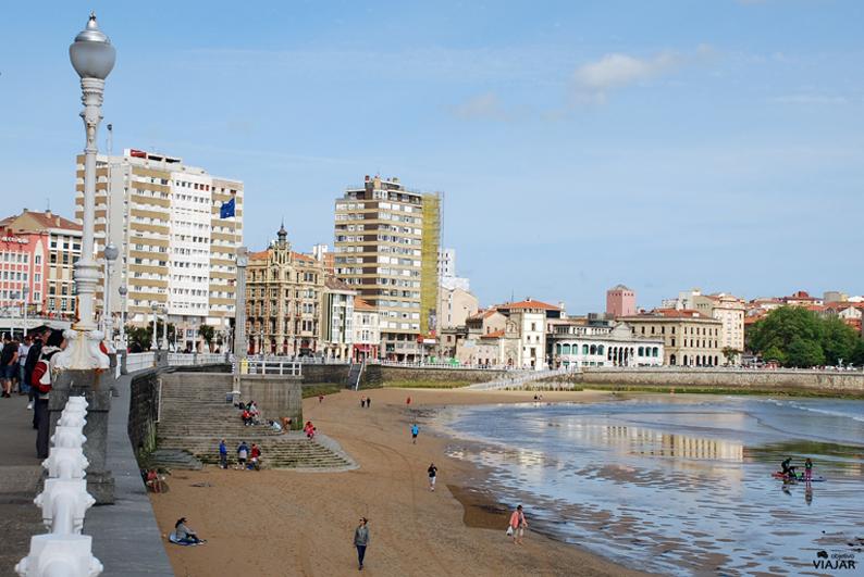 Paseo de San Lorenzo. Gijón