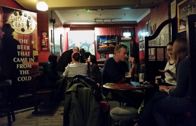 Pub The Cobblestone. Dublín