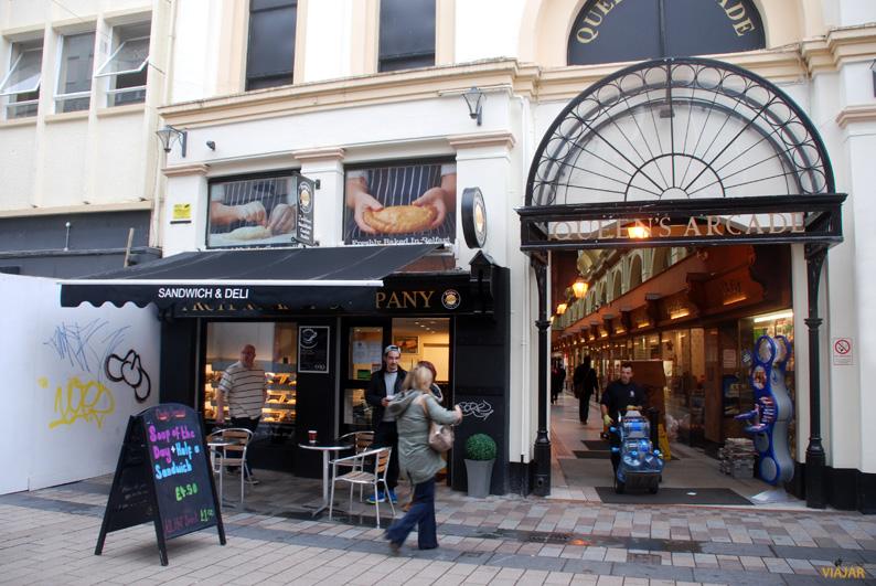 Queen's Arcade. Belfast
