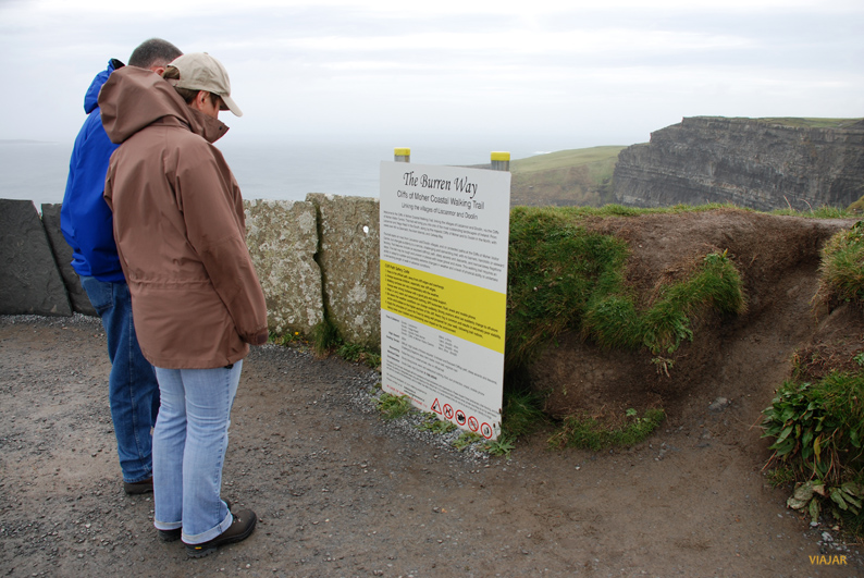 The Burren Way. Acantilados de Moher