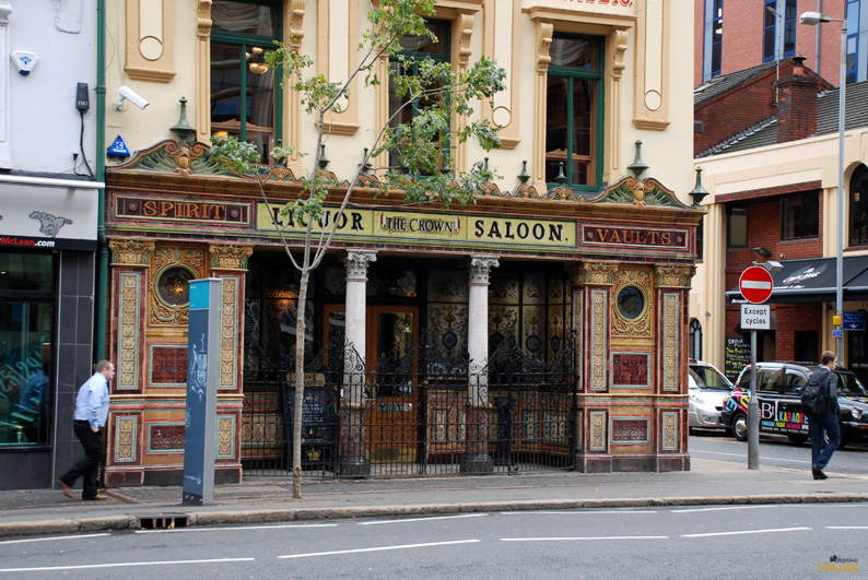 The Crown Liquor Saloon. Belfast