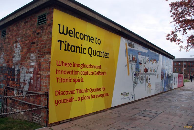 Titanic Quarter. Belfast