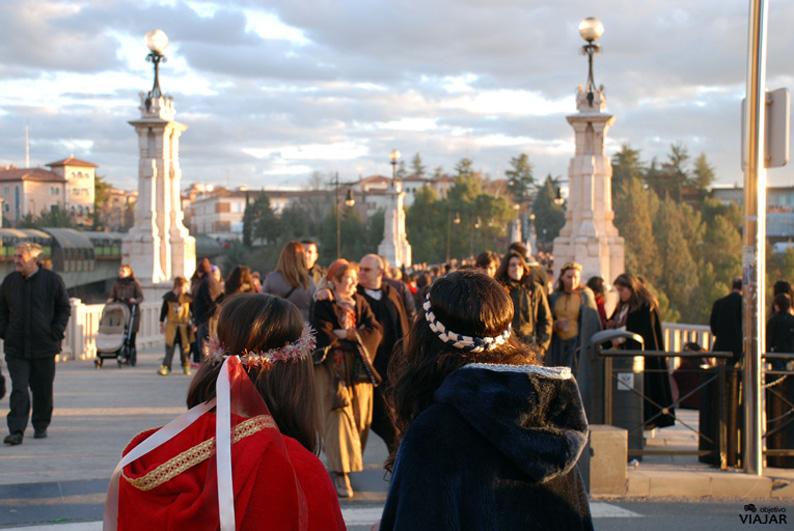 Viaducto de Teruel. Bodas de Isabel