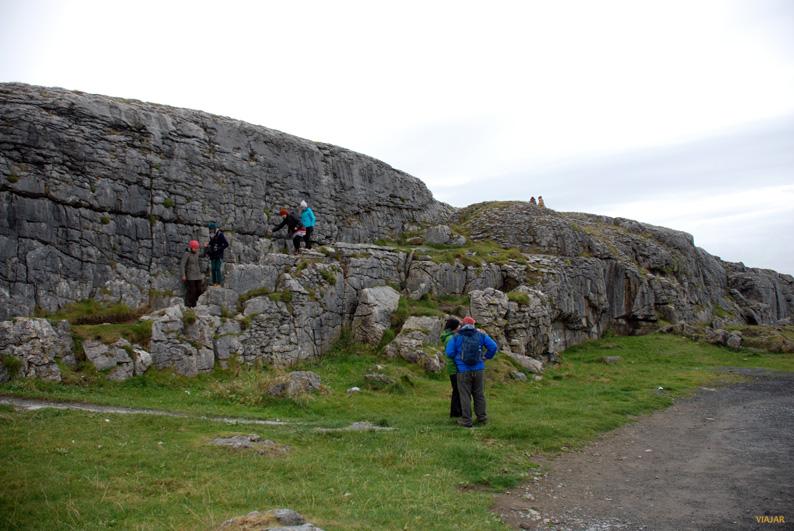 Explorando El Burren. Irlanda