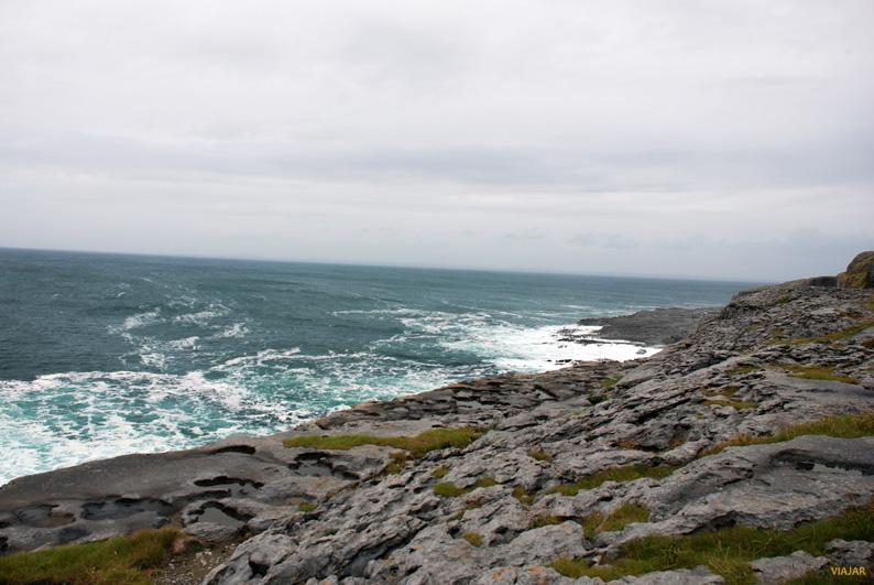 Paisaje de El Burren. Irlanda
