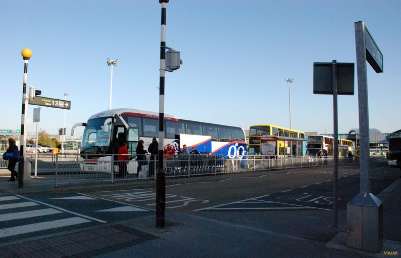 Dársenas de autobuses del aeropuerto de Dublín