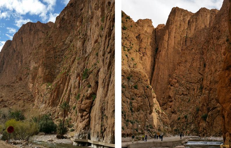 Gargantas del Todra. Marruecos