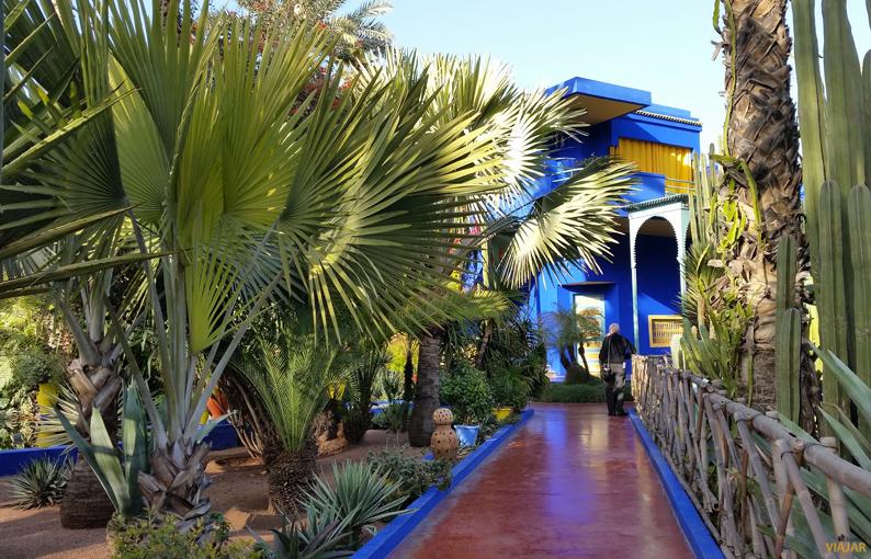 Museo bebeber. Jardín Majorelle. Marrakech