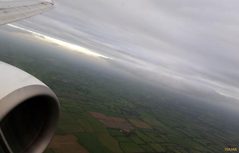 Sobrevolando Irlanda