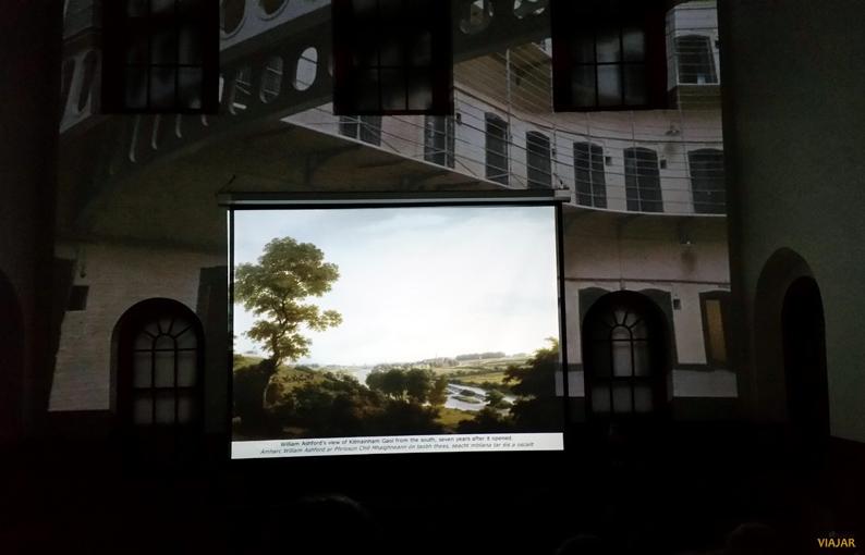 Audiovisual. Kilmainham Gaol. Dublín