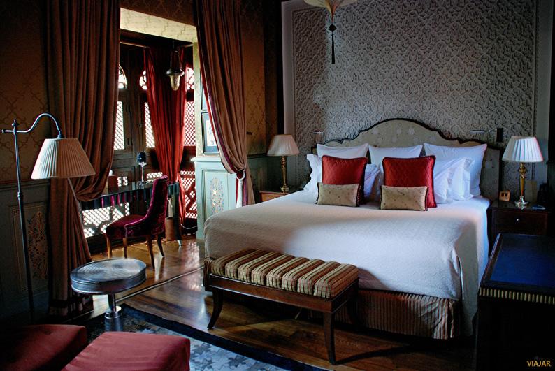 Dormitorio del riad. Hotel Royal Mansour. Marrakech