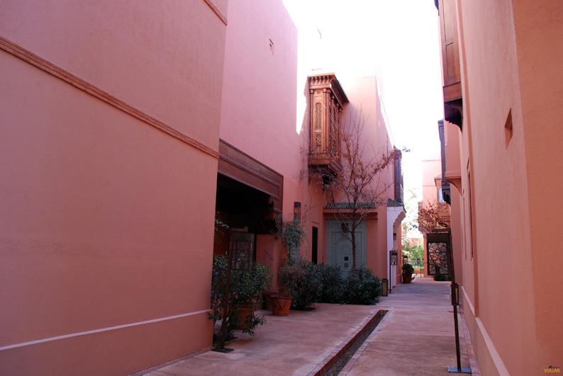 El hotel Royal Mansour de Marrakech recrea una medina tradicional