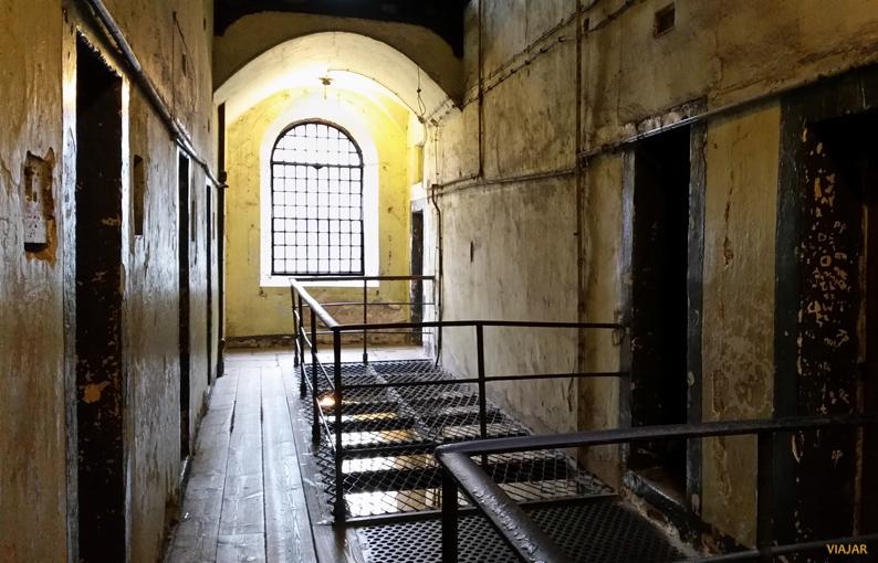 Galería del ala Oeste. Kilmainham Gaol. Dublín