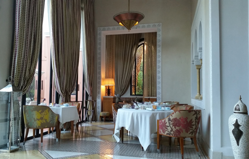 La Table. Hotel Royal Mansour. Marrakech