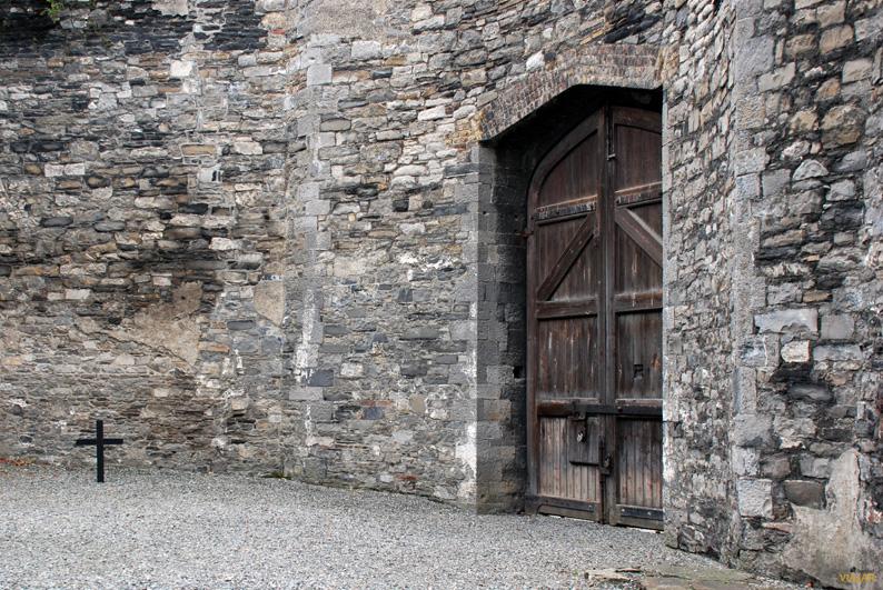Lugar de las ejecuciones de 1916. Kilmainham Gaol. Dublín
