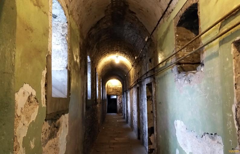Pasillo del ala Oeste. Kilmainham Gaol. Dublín