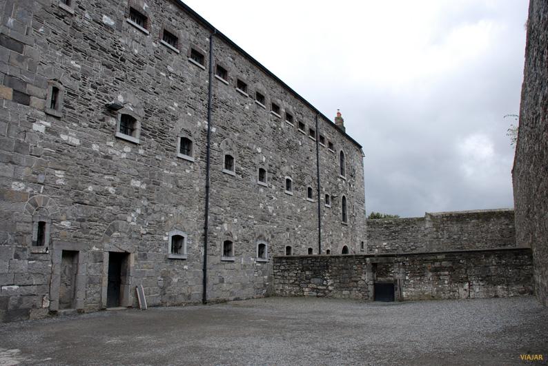 Patio de la carcel de Dublin