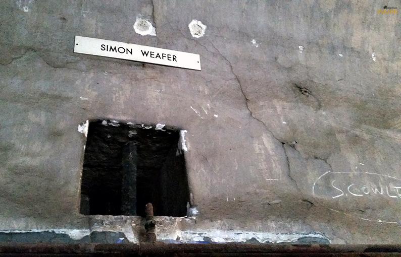 Placas contra el olvido. Kilmainham Gaol. Dublín