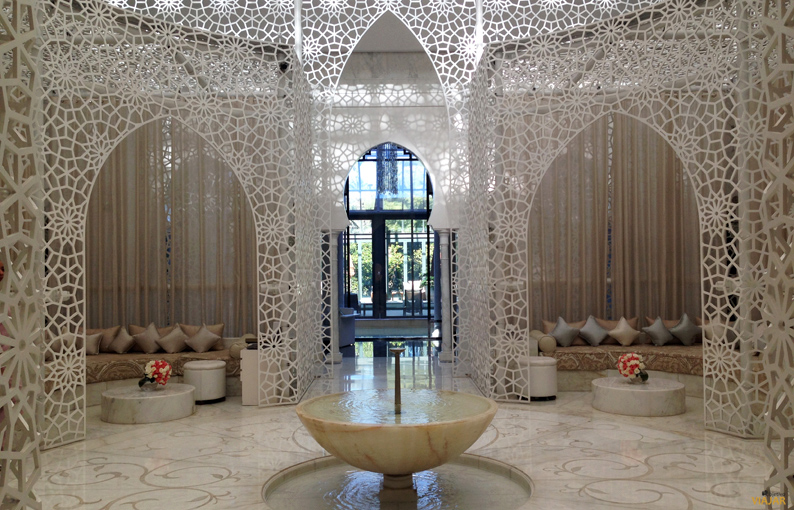 Spa. Hotel Royal Mansour. Marrakech