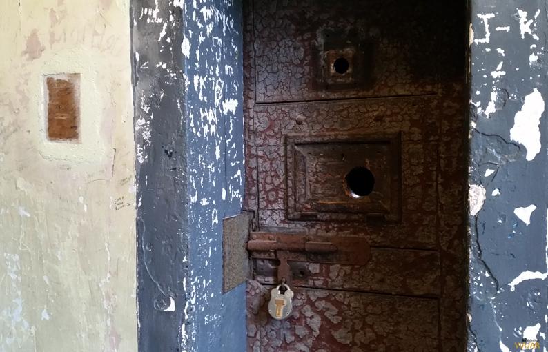 Una celda de Kilmainham Gaol. Dublín