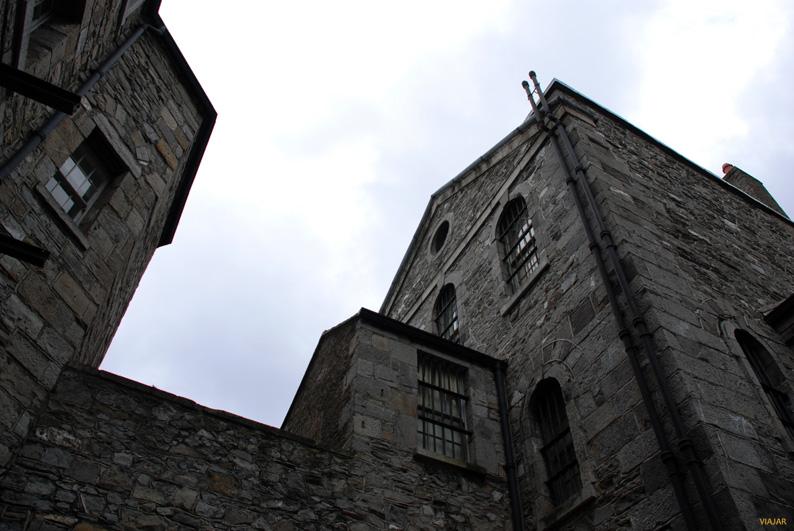 Vista de la cárcel de Kilmainham. Dublín