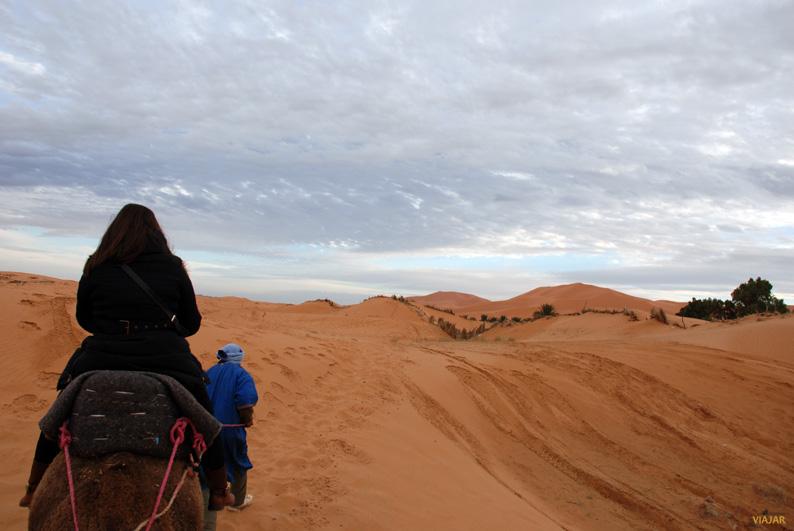 Adentrándonos en Erg Chebbi. Marruecos
