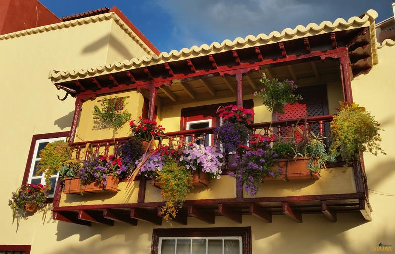 Balcón de la Avenida Marítima. Santa Cruz de La Palma