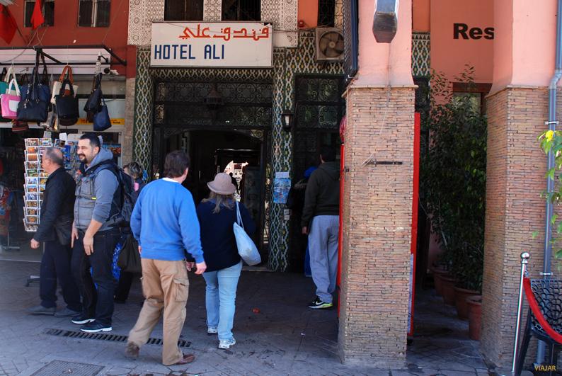 Casa de cambio Hôtel Ali. Marrakech