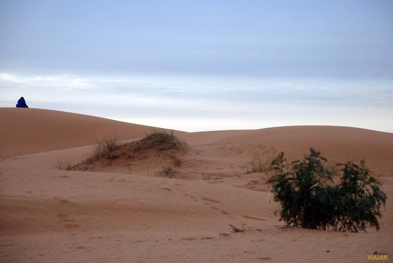 La soledad del desierto. Marruecos