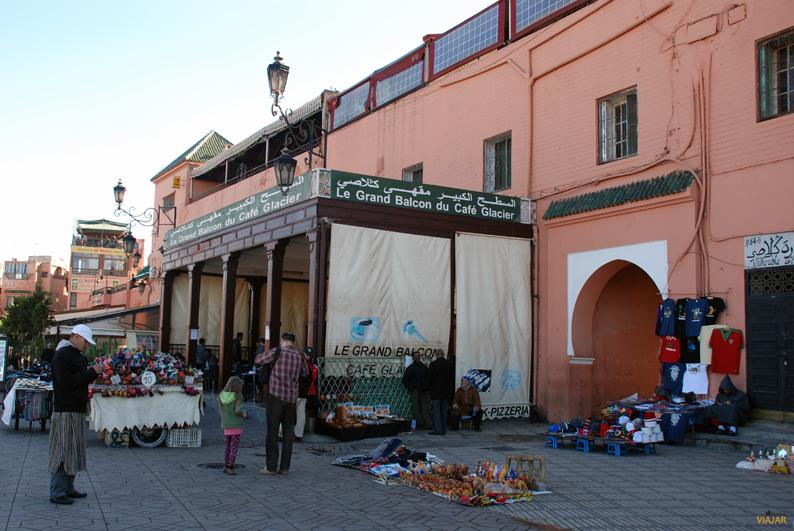 Le Grand Balcon du Café Glacier. Marrakech