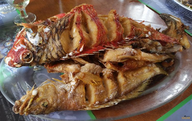 Los deliciosos pescados de Casa Goyo. La Palma
