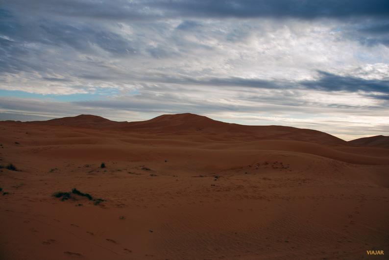 Mar de dunas. Erg Chebbi. Marruecos