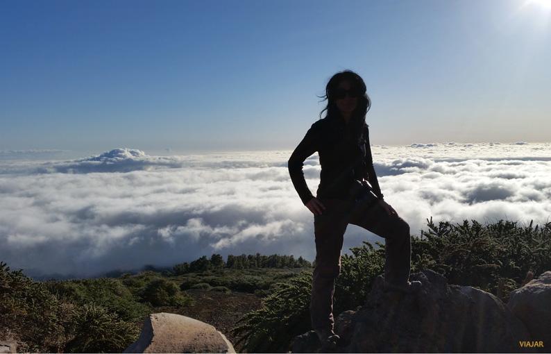 Mar de nubes. La Palma