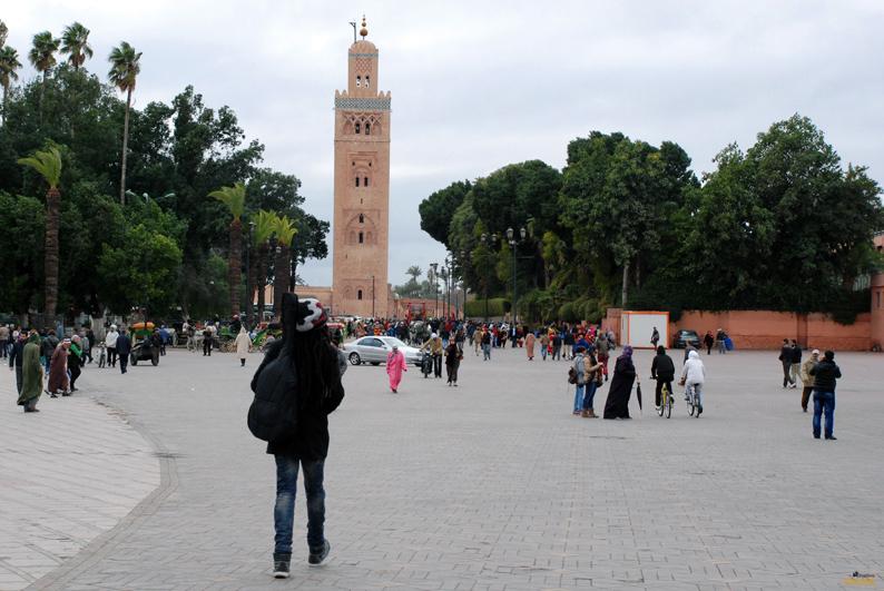 Minarete de la Kutubia. Marrakech