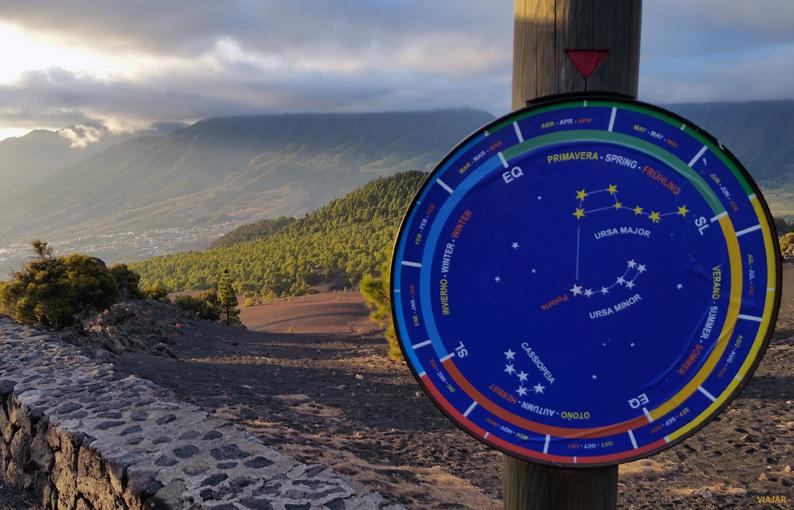 Mirador astronómico. La Palma
