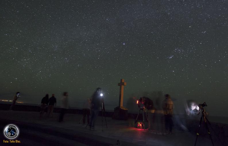 Observación de estrellas con Cielos-La Palma