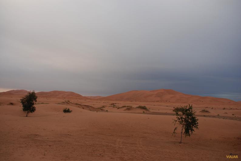 Rumbo a las dunas de Erg Chebbi. Marruecos