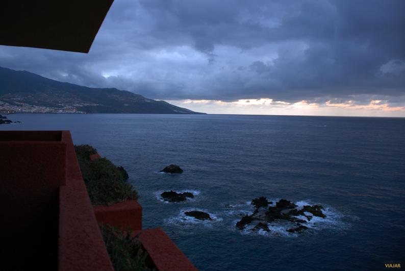 Vistas desde mi habitación. H10 Taburiente Playa. La Palma