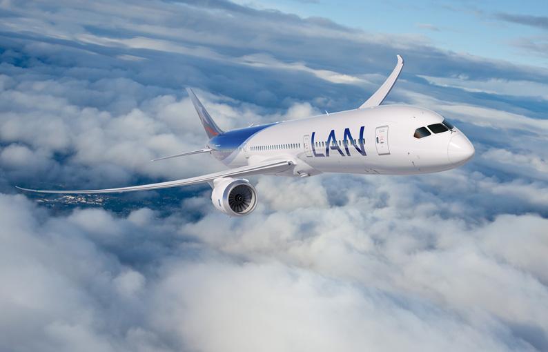 Boeing 787-9 de LAN
