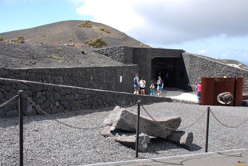 Centro de visitantes del Volcán de San Antonio. Fuencaliente