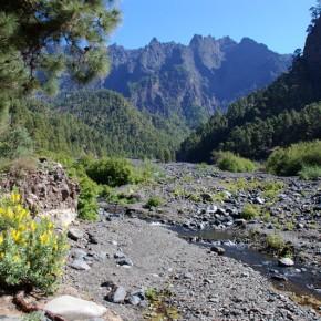 De ruta por La Caldera de Taburiente, la niña bonita de La Palma