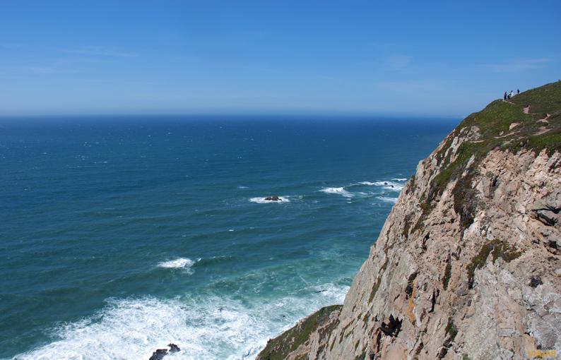 Cabo da Roca, donde se acaba la tierra y empieza el mar