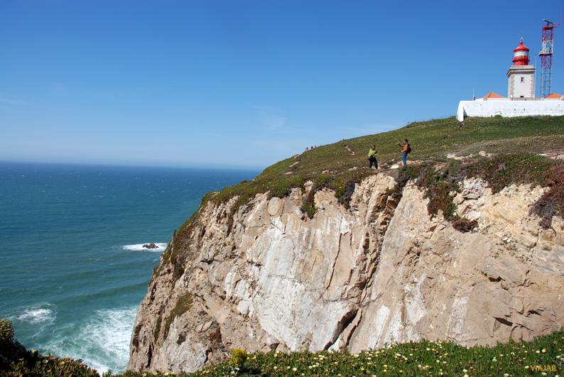El Cabo da Roca y su faro
