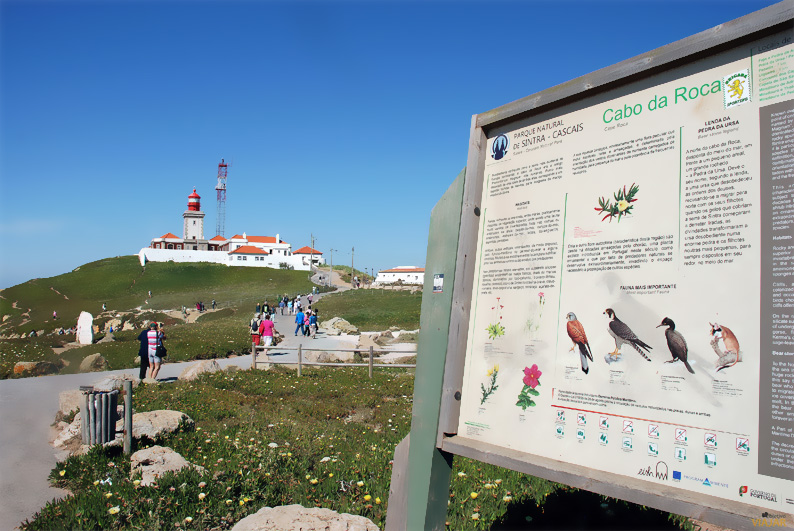 Información sobre el Parque Natural de Sintra-Cascais. Cabo da Roca