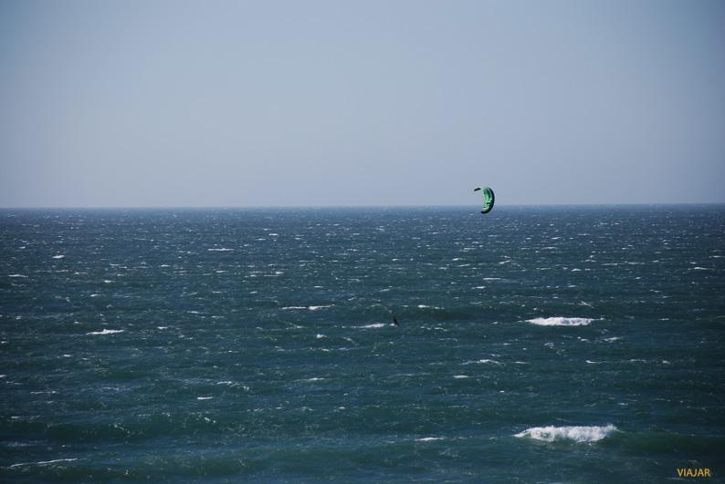 Kitesurf en la Playa de Guincho