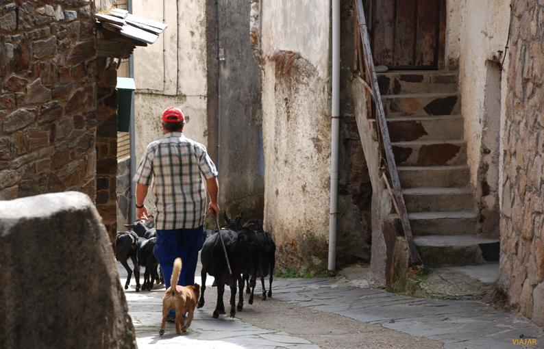 El tranquilo ritmo de vida de las poblaciones hurdanas