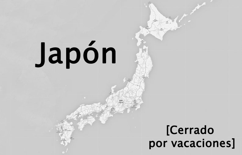 Mapa Japón