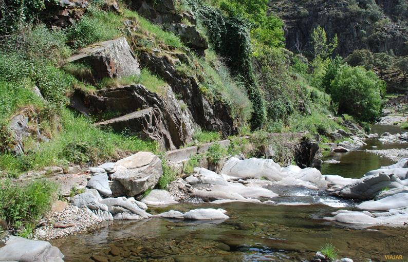 Ríos y arroyos recorren toda la geografía de Las Hurdes